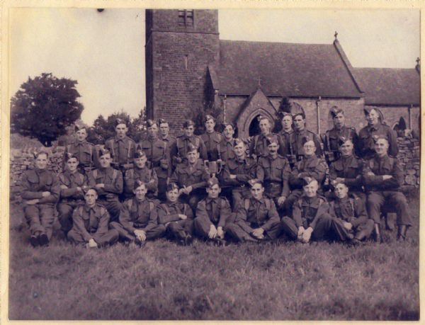 Butterton and Grindon Home Guard, World War 2